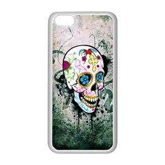sUGAR sKULL Apple iPhone 5C Seamless Case (White)