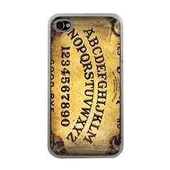 Call me on my Ouija Board Apple iPhone 4 Case (Clear)