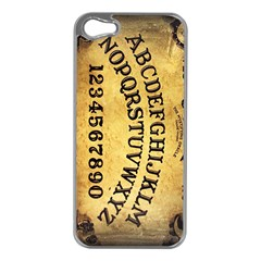 Call me on my Ouija Board Apple iPhone 5 Case (Silver)