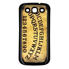 Call me on my Ouija Board Samsung Galaxy S3 Back Case (Black)