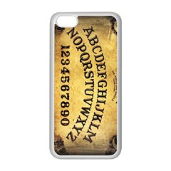 Call me on my Ouija Board Apple iPhone 5C Seamless Case (White)