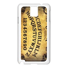 Call me on my Ouija Board Samsung Galaxy Note 3 N9005 Case (White)