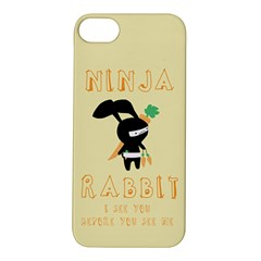Ninja Bunny Apple iPhone 5S Hardshell Case