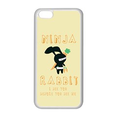 Ninja Bunny Apple iPhone 5C Seamless Case (White)