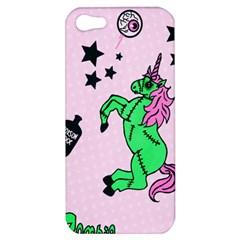 Zombie Unicorn Apple iPhone 5 Hardshell Case