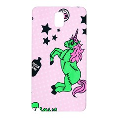 Zombie Unicorn Samsung Galaxy Note 3 N9005 Hardshell Back Case