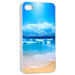 look at your phone and relax Apple iPhone 4/4s Seamless Case (White)