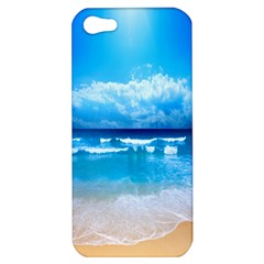 Look At Your Phone And Relax Apple Iphone 5 Hardshell Case