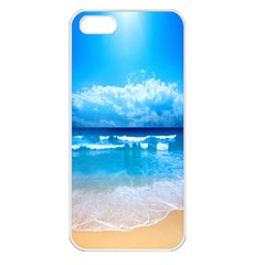 look at your phone and relax Apple iPhone 5 Seamless Case (White)
