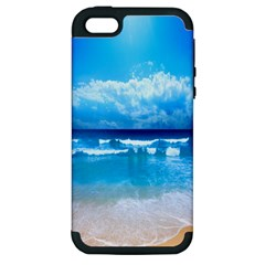look at your phone and relax Apple iPhone 5 Hardshell Case (PC+Silicone)