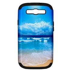Look At Your Phone And Relax Samsung Galaxy S Iii Hardshell Case (pc+silicone)