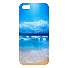 look at your phone and relax Apple iPhone 5 Premium Hardshell Case