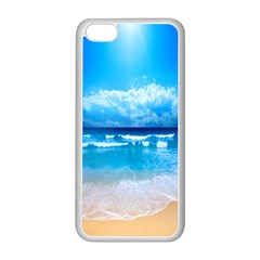 look at your phone and relax Apple iPhone 5C Seamless Case (White)