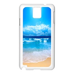 Look At Your Phone And Relax Samsung Galaxy Note 3 N9005 Case (white)