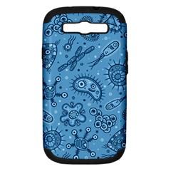 Bacteria Samsung Galaxy S Iii Hardshell Case (pc+silicone)