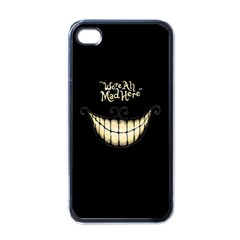 We Are All Mad Here Apple iPhone 4 Case (Black)
