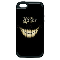 We Are All Mad Here Apple iPhone 5 Hardshell Case (PC+Silicone)