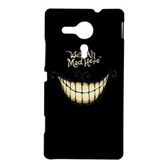 We Are All Mad Here Sony Xperia SP M35H Hardshell Case