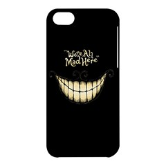 We Are All Mad Here Apple iPhone 5C Hardshell Case