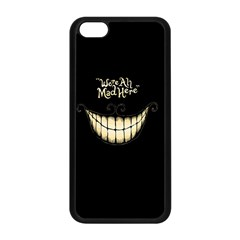 We Are All Mad Here Apple iPhone 5C Seamless Case (Black)