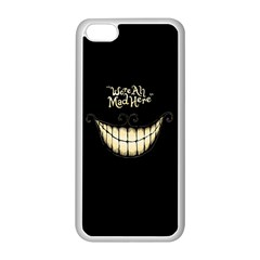 We Are All Mad Here Apple iPhone 5C Seamless Case (White)