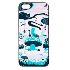Wonderland Apple Iphone 5 Seamless Case (black)