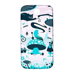 Wonderland Samsung Galaxy S4 I9500/I9505  Hardshell Back Case