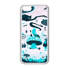 Wonderland Apple iPhone 5C Seamless Case (White)