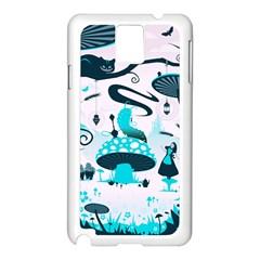 Wonderland Samsung Galaxy Note 3 N9005 Case (White)