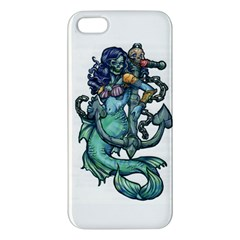 Zombie Mermaid Apple iPhone 5 Premium Hardshell Case