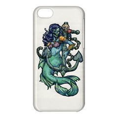 Zombie Mermaid Apple Iphone 5c Hardshell Case