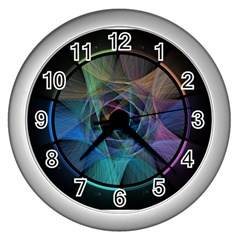 Pi Visualized Wall Clock (Silver)