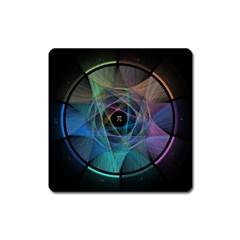 Pi Visualized Magnet (square)