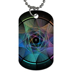 Pi Visualized Dog Tag (Two-sided)