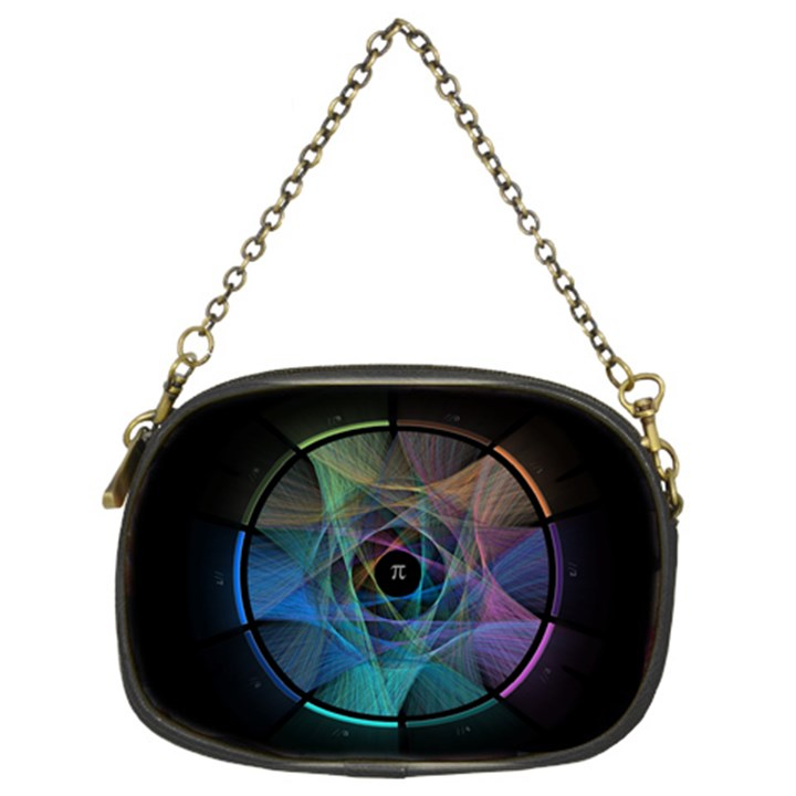 Pi Visualized Chain Purse (Two Sided)