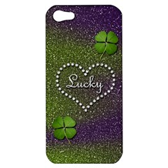 Lucky Girl Apple Iphone 5 Hardshell Case