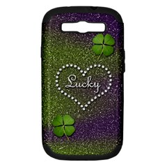 Lucky Girl Samsung Galaxy S Iii Hardshell Case (pc+silicone)