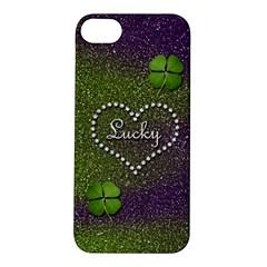 Lucky Girl Apple iPhone 5S Hardshell Case