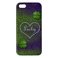 Lucky Girl iPhone 5S Premium Hardshell Case