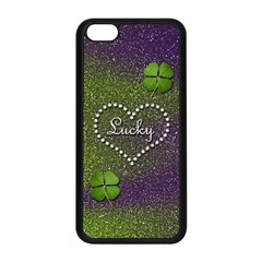 Lucky Girl Apple Iphone 5c Seamless Case (black)