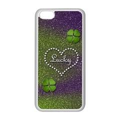 Lucky Girl Apple iPhone 5C Seamless Case (White)