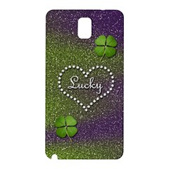 Lucky Girl Samsung Galaxy Note 3 N9005 Hardshell Back Case
