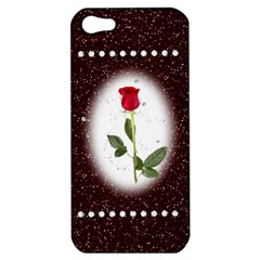 Pretty As A Rose Apple Iphone 5 Hardshell Case