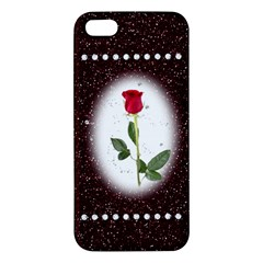 Pretty as a rose Apple iPhone 5 Premium Hardshell Case