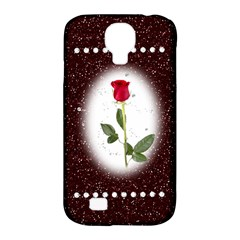 Pretty as a rose Samsung Galaxy S4 Classic Hardshell Case (PC+Silicone)