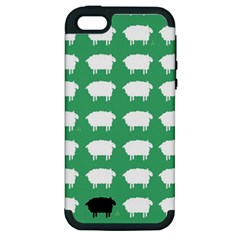 Herd Mentality  Apple iPhone 5 Hardshell Case (PC+Silicone)