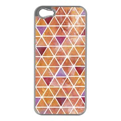 Geometrics Apple iPhone 5 Case (Silver)