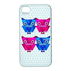 OWLigami Apple iPhone 4/4S Hardshell Case with Stand