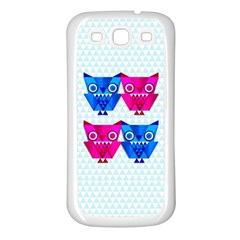 OWLigami Samsung Galaxy S3 Back Case (White)