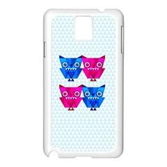 OWLigami Samsung Galaxy Note 3 N9005 Case (White)